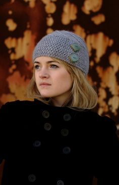 **THIS LISTING IS FOR THE INSTRUCTIONS TO MAKE THIS HAT, NOT THE HAT ITSELF** **Thanks to Etsys digital service, the PDF will be available to you as soon as payment has cleared!** Lexie is a classic Hat with modern details. The deep cloche like brim is knitted sideways, and