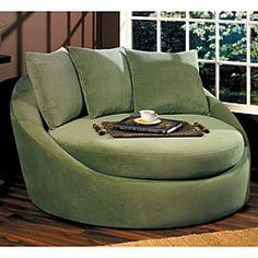 Shop for Roundabout Spring Green Low Circle Chair. Get free shipping at Overstock.com - Your Online Furniture Outlet Store! Get 5% in rewards with Club O! - 11491465