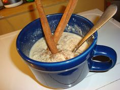 Nik's Cinnamon Bun Protein Oatmeal  Great protein-rich meal for the soft foods stage!