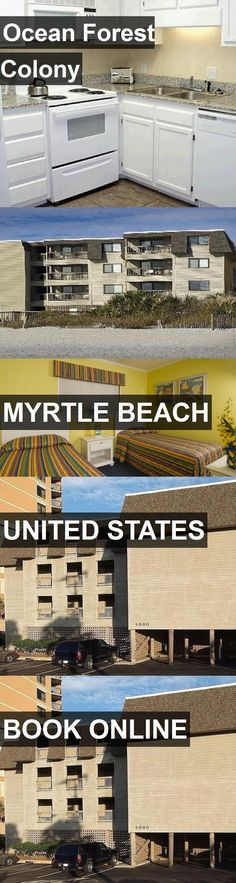 Hotel Ocean Forest Colony in Myrtle Beach, United States. For more information, photos, reviews and best prices please follow the link. #UnitedStates #MyrtleBeach #travel #vacation #hotel