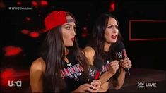 Their promo was soo good 😍😍😍 Nxt Divas, Total Divas, Wwe 2, Nikki And Brie Bella, Wwe Womens, Twin Sisters, Dancing With The Stars, Wwe Superstars, Cool Girl