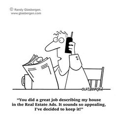 Real estate humor  Repinned by www.dwellus.com                                                                                                                                                                                 More