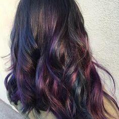 Oil slick hair color by Sammi Situ - Yelp