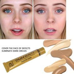 Too Faced Concealer, Cream Concealer, No Foundation Makeup, Liquid Foundation, Contour Makeup, Contouring, Face Makeup, Covering Dark Circles, Concealer For Dark Circles