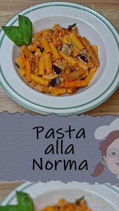 Quick Recipes, Summer Recipes, Healthy Recipes, Rigatoni, Queso Fresco, Ricotta, Eggplant, Italian Recipes, Cooking