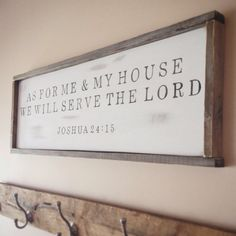 Our custom bible verse sign is able to be customized using any bible verse of your choice, 100% hand painted, distressed and finished with a