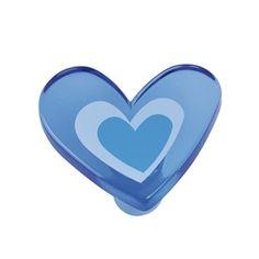 pomos tiradores corazon metacrilato azul puerta mueble infantiles juve comprar venta online 666azx