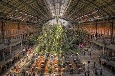 Atocha station, Madrid, MONEO