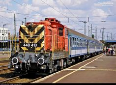 410 Hungarian State Railways (MÁV) 448 at Debrecen, Hungary by Sly77