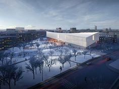 Henning Larsen Architects + MARK arhitekti — The Latvian Museum of Contemporary Art Design Competition