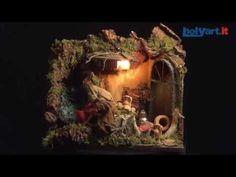 Escena de la lavandera movimiento 12cm Pesebre Nápoles   venta online en HOLYART