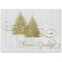 Rustic Glam Holiday Holiday Greeting Cards | from PaperDirect #bestseller