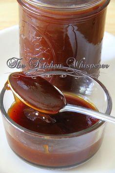 Sticky Honey BBQ Sauce, wing sauce, lip smacking sauce, bbq chicken, wings