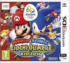 Nintendo Mario & Sonic ai Giochi Olimpici di Rio 2016, 3D...
