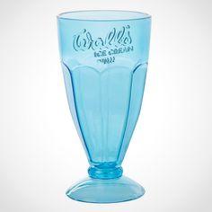 Walls Sundae Glass Blue Party, Love Blue, Summer Days, New Homes, Walls, Tableware, Blues, Design, Dinnerware
