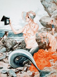 Illustration by Chéri Hérouard for La Vie Parisienne, 1932