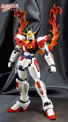 Custom Build: HGBF 1/144 Build Burning Gundam - Gundam Kits Collection News and Reviews