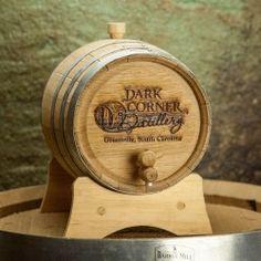 Age your own whiskey barrel form Dark Corner Distillery! // yeahTHATgreenville