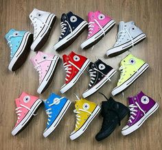 All star convense Mode Converse, Sneakers Mode, Outfits With Converse, Converse All Star, Converse Shoes, Converse Chuck Taylor, Sneakers Fashion, Fashion Shoes, High Top Sneakers