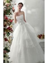 A-linie Preiswertes Glamoures Hochzeitskleid 1222