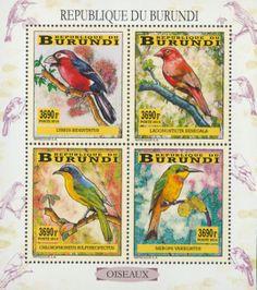 BUR 14104 aBirds Stamps, Birds, Seals, Bird, Postage Stamps