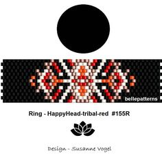 DETAILS: Rosy&Waves Peyote ring pattern - The ring-length is adjustable. Size: cm x cm / x - odd count Beads: Miyuki Delica >>>>>>>>>>>>> Coupons-codes: Peyote Beading Patterns, Peyote Stitch Patterns, Seed Bead Patterns, Beaded Bracelet Patterns, Loom Beading, Tutorial Anillo, Peyote Stitch Tutorial, Ring Designs, Beaded Rings