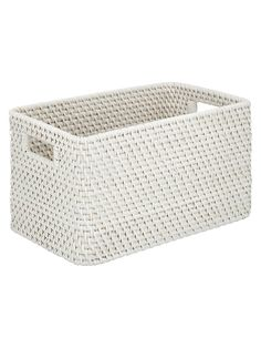 Buy Croft Collection Rattan Basket, White from our Bath & Shower Accessories range at John Lewis & Partners. Girl Bedroom Walls, Wall Decals For Bedroom, Birthday Party Decorations Diy, Ball Decorations, Diy Storage Shelves, Storage Baskets, Bohemian Bedroom Design, Shower Accessories, Christmas Baskets