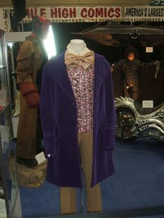 Gene Wilder's Willy Wonka costume at Profiles In History Booth at SDCC 2012