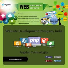 If you are looking for a proficient #Web #Development Services provider in #India. Argalon Technologies is one of the best #website development #company which provide complete #services to suit your business need. Visit here: http://bit.ly/1SKCqQ6