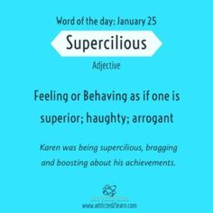 If improving your English Vocabulary is one of your resolutions for you are at the right place. Bookmark our site to learn a new word every day. Interesting English Words, Unusual Words, Rare Words, New Words, Interesting Facts, English Idioms, English Phrases, Learn English Words, English Language