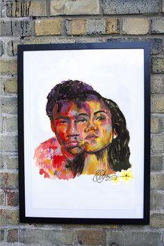 Childish Gambino & Jhene Aiko artwork