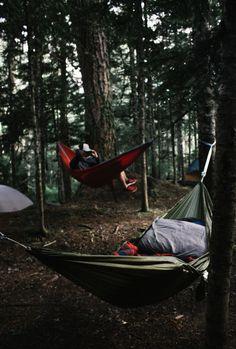 "hannahkemp: "" Hammocking//Washington August 2016 "" Use code ""PINME"" for 40% off all hammocks on maderaoutdoor.com"