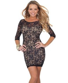 Lisas Fine Lingerie: womens sexy tube dresses: Half Sleeve Sheer Lace Overlay Sweetheart Neckline Formal Evening Cocktail Dress