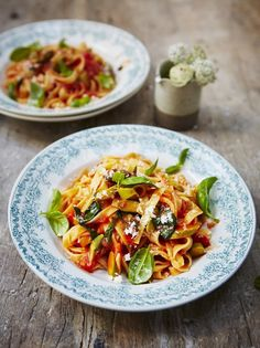 Tomato Tagliatelle | Pasta Recipes | Jamie Oliver Recipes