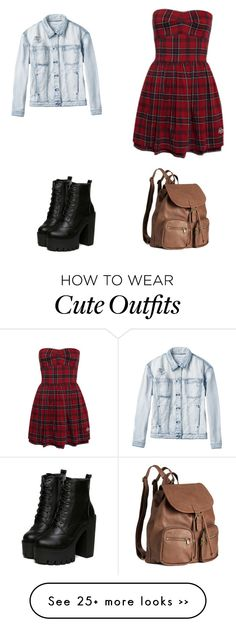 """""""Cute Day Outfit"""" by singer-fashionista on Polyvore featuring H&M and RVCA"""