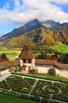 Chateau de Gruyeres, Switzerland