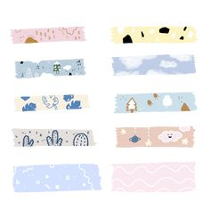 Okay maybe not those cute drawings on my resume but the bottom two with the light colors and fun little accent lines I really like! Journal Stickers, Planner Stickers, Printable Stickers, Cute Stickers, Memo Notepad, Note Doodles, Cute Notes, Aesthetic Stickers, Note Paper