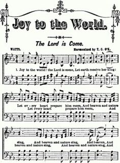 "Joy to the World is one of the most known and loved traditional Christmas carols. The words to this amazing song were written by Isaac Watts, ""the father of English hymnody"", and the music from the extraordinary George F."
