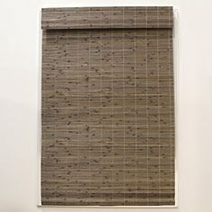 World Menagerie Cordless Flatstick Semi-Sheer Roman Shade Blind Size: x Blind Color: Driftwood