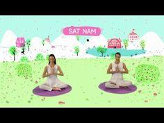 YOGIC / Yoga para niños - Tutorial Meditación Intuición - Juegos y Canciones infantiles - - YouTube