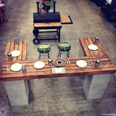 7 Outdoor Kitchen Ideas For The Best Summer Yet! 2019 Outdoor Kitchen Design Ideas: Pictures Tips & Expert Advice The post 7 Outdoor Kitchen Ideas For The Best Summer Yet! 2019 appeared first on Patio Diy. Outdoor Spaces, Outdoor Living, Outdoor Kitchens, Diy Outdoor Kitchen, Outdoor Eating Areas, Diy Kitchens, Diy Terrasse, Back Patio, Cool Ideas