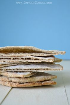 Pita Bread (gluten, egg, and dairy-free)