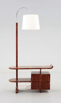 LAMPBORD, art deco, 1930/40-tal.