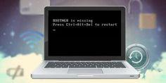 "Fix ""BOOTMGR is missing"" error in your computer"