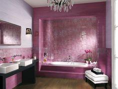 Carrelage de salle de bains original – 90 photos inspirantes