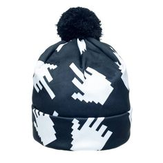 Let your emotions out with the Middle Finger Beanie by Fringoo. A hat that says exactly how you feel on those cold winter days when you don't feel like going to work, school or all of the above. Pleas