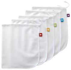 Produce Bags, Set of 5 contemporary food containers and storage