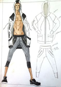Sportswear - Illustrated by Kristina Keurjikian