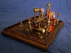 Steampunk Clock 3(3) by dkart71.deviantart.com on @deviantART