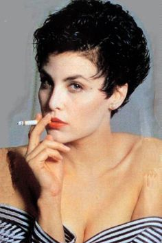 "night-time-my-time: ""Sherilyn Fenn "" Smoking Ladies, Girl Smoking, Madchen Amick Twin Peaks, Girls Smoking Cigarettes, Sherilyn Fenn, Audrey Horne, David Lynch Twin Peaks, Kyle Maclachlan, Girls World"